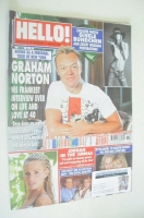 <!--2004-02-17-->Hello! magazine - Graham Norton cover (17 February 2004 - Issue 803)