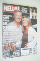 <!--2004-07-27-->Hello! magazine - Des O'Connor and Jodie Brooke Wilson cover (27 July 2004 - Issue 826)