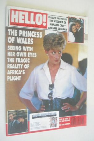 <!--1993-07-24-->Hello! magazine - Princess Diana cover (24 July 1993 - Iss