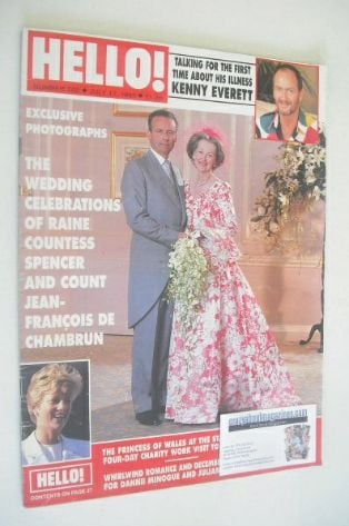<!--1993-07-17-->Hello! magazine - Raine Countess Spencer and Count Jean-Fr