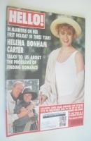 <!--1993-05-15-->Hello! magazine - Helena Bonham Carter cover (15 May 1993 - Issue 253)
