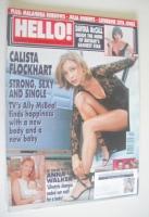 <!--2001-11-06-->Hello! magazine - Calista Flockhart cover (6 November 2001 - Issue 687)
