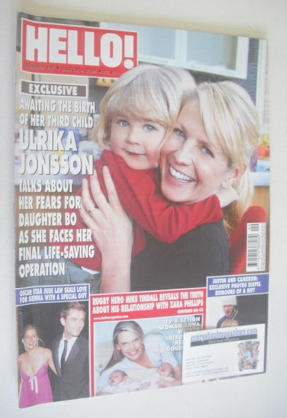 <!--2004-03-09-->Hello! magazine - Ulrika Jonsson and daughter Bo cover (9