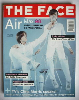 The Face magazine - Air cover (May 1998 - Volume 3 No. 16)