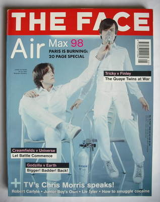 <!--1998-05-->The Face magazine - Air cover (May 1998 - Volume 3 No. 16)