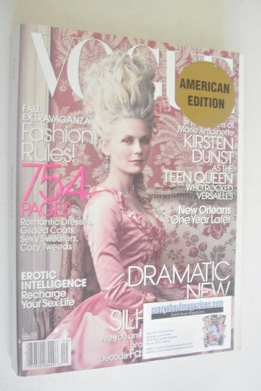 <!--2006-09-->US Vogue magazine - September 2006 - Kirsten Dunst cover