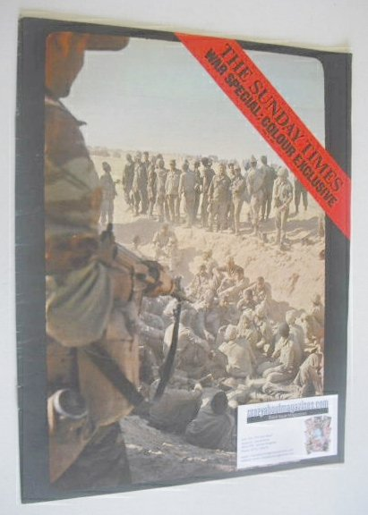 <!--1967-06-18-->The Sunday Times magazine - War Special cover (18 June 196