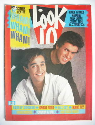 <!--1984-05-26-->Look In magazine - George Michael and Andrew Ridgeley cove
