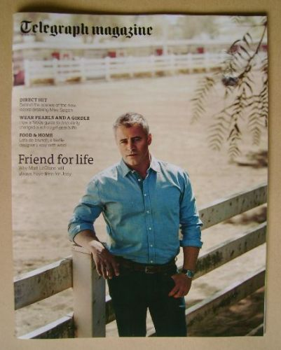 <!--2014-05-17-->Telegraph magazine - Matt LeBlanc cover (17 May 2014)