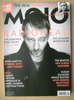 MOJO magazine - Thom Yorke cover (August 2006 - Issue 153)