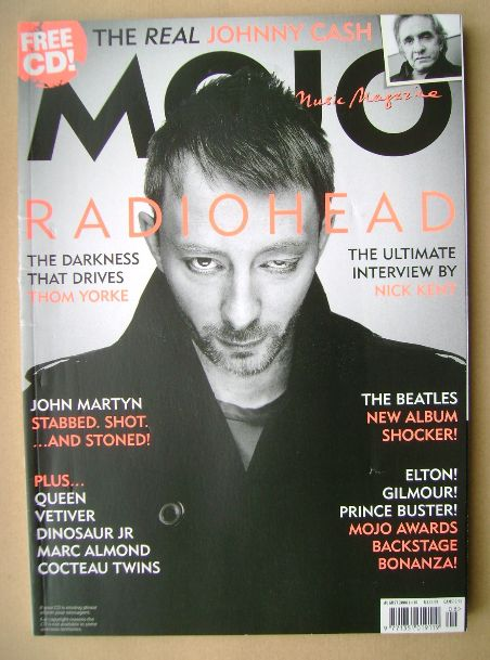 <!--2006-08-->MOJO magazine - Thom Yorke cover (August 2006 - Issue 153)