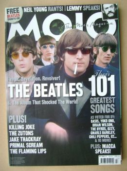 MOJO magazine - The Beatles cover (July 2006 - Issue 152)