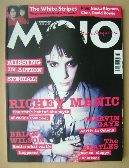 <!--2002-02-->MOJO magazine - Richey Edwards cover (February 2002 - Issue 9