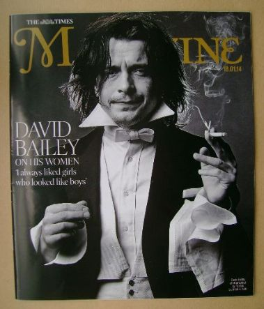 <!--2014-01-18-->The Times magazine - David Bailey cover (18 January 2014)