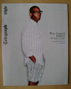 Telegraph Style magazine - Tinie Tempah cover (Spring/Summer 2014)