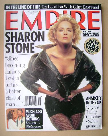 <!--1993-09-->Empire magazine - Sharon Stone cover (September 1993 - Issue