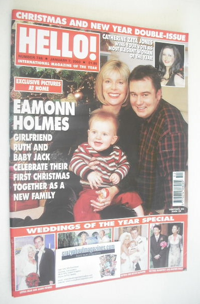 hello magazine eamonn holmes ruth and jack cover 7. Black Bedroom Furniture Sets. Home Design Ideas