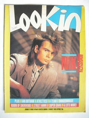 <!--1985-08-17-->Look In magazine - Nik Kershaw cover (17 August 1985)