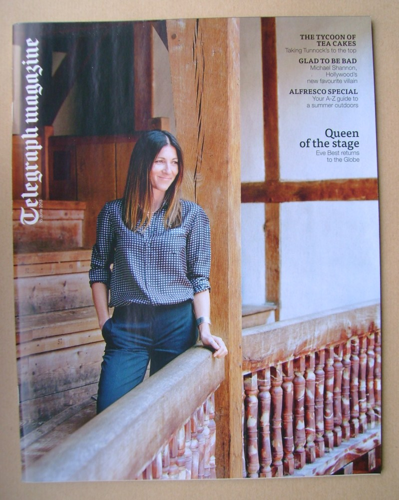 <!--2013-06-15-->Telegraph magazine - Eve Best cover (15 June 2013)
