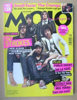 MOJO magazine - The Strokes cover (September 2003 - Issue 118)