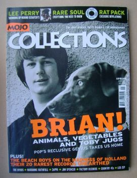 MOJO Collections magazine - Brian Wilson cover (Spring 2002 - Issue No. 6)