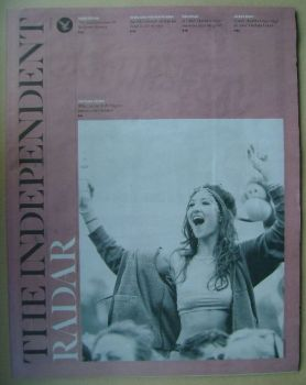 The Independent Radar magazine - Festival Fever cover (17 May 2014)