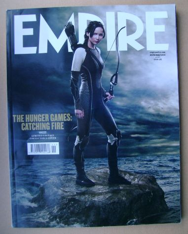 <!--2013-11-->Empire magazine - Jennifer Lawrence cover (November 2013 - Is