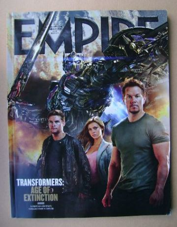 <!--2014-01-->Empire magazine - Transformers: Age Of Extinction cover (Janu