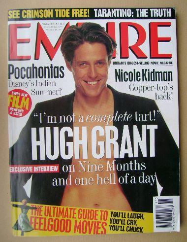 <!--1995-11-->Empire magazine - Hugh Grant cover (November 1995 - Issue 77)