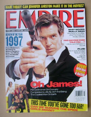 <!--1998-01-->Empire magazine - Pierce Brosnan cover (January 1998 - Issue