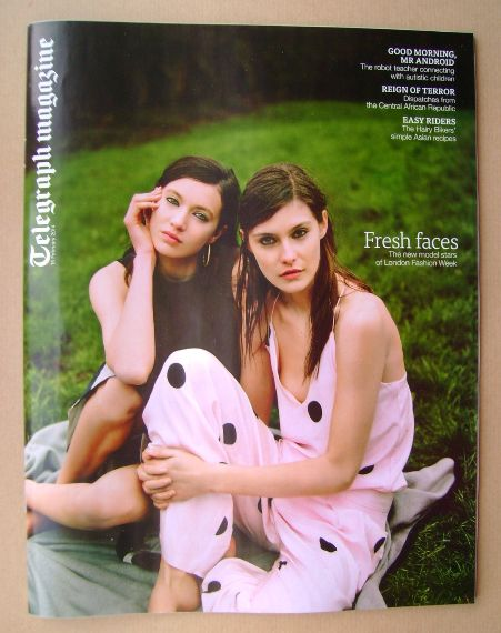 <!--2014-02-15-->Telegraph magazine - Charlotte Wiggins and Matilda Lowther