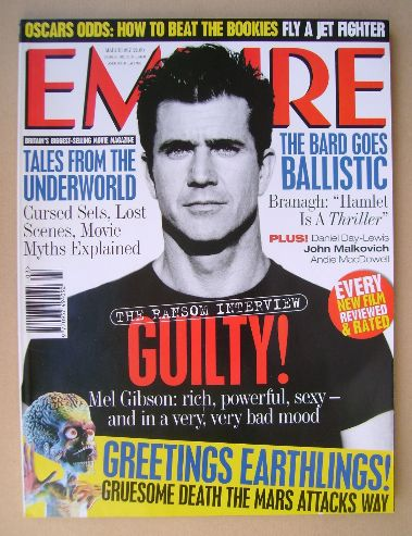 <!--1997-03-->Empire magazine - Mel Gibson cover (March 1997 - Issue 93)