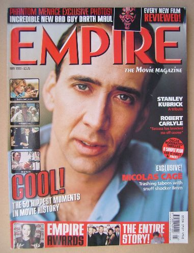 <!--1999-05-->Empire magazine - Nicolas Cage cover (May 1999 - Issue 119)