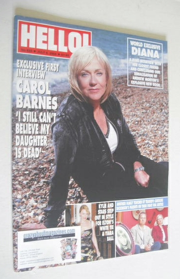 <!--2004-07-06-->Hello! magazine - Carol Barnes cover (6 July 2004 - Issue