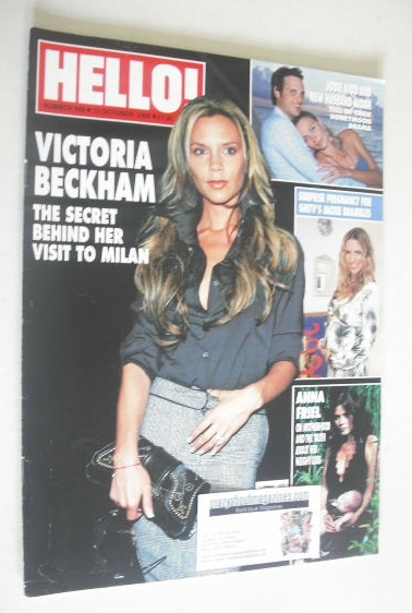 <!--2005-10-13-->Hello! magazine - Victoria Beckham cover (13 October 2005