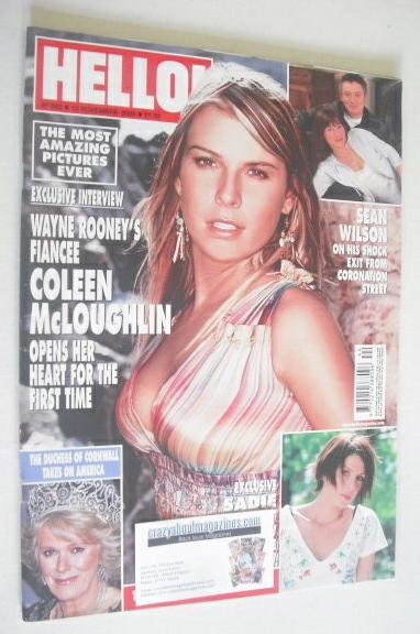 <!--2005-11-10-->Hello! magazine - Coleen McLoughlin cover (10 November 200