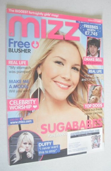 <!--2008-03-20-->MIZZ magazine - Heidi Range cover (20 March -2 April 2008)