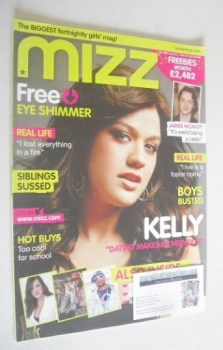 MIZZ magazine - Kelly Clarkson cover (23 August - 5 September 2007)