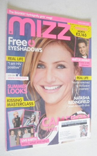 <!--2007-06-28-->MIZZ magazine - Cameron Diaz cover (28 June - 11 July 2007