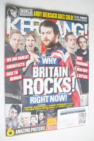 <!--2014-05-17-->Kerrang magazine - Why Britain Rocks Right Now! cover (17