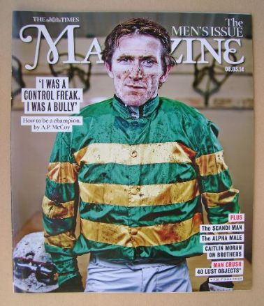 <!--2014-03-08-->The Times magazine - A.P. McCoy cover (8 March 2014)