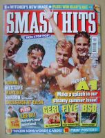 <!--1999-08-25-->Smash Hits magazine - A1 cover (25 August 1999)
