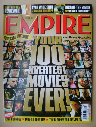<!--1999-10-->Empire magazine - October 1999 (Issue 124)