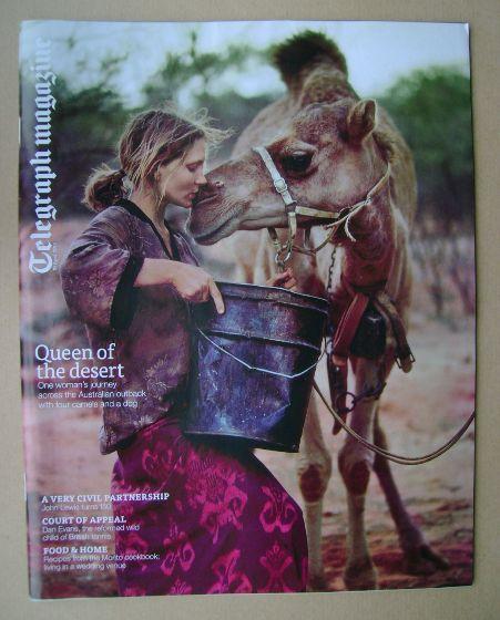 <!--2014-04-19-->Telegraph magazine - Robyn Davidson cover (19 April 2014)
