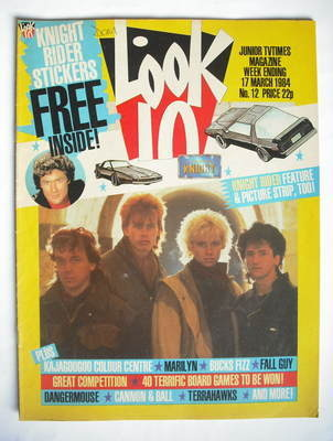<!--1984-03-17-->Look In magazine - Kajagoogoo cover (17 March 1984)
