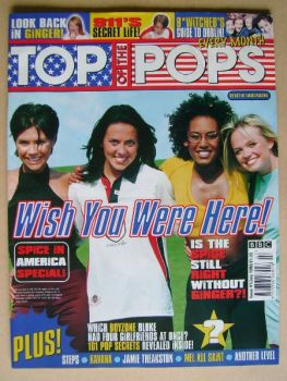 Top Of The Pops magazine - Spice Girls cover (July 1998)
