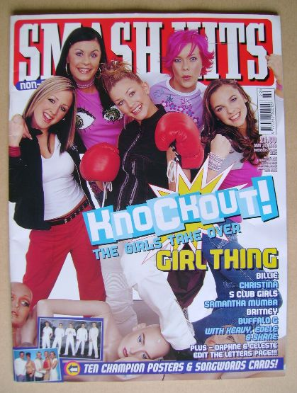 <!--2000-05-31-->Smash Hits magazine - Girl Thing cover (31 May 2000)
