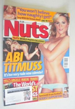 Nuts magazine - Abi Titmuss cover (24-30 September 2004)