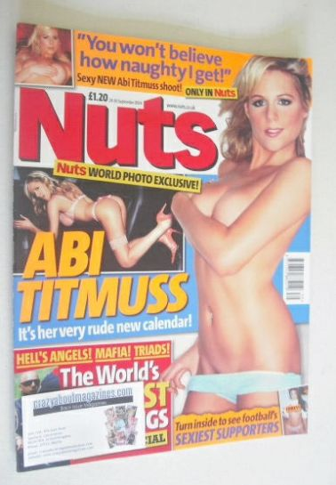 <!--2004-08-24-->Nuts magazine - Abi Titmuss cover (24-30 September 2004)