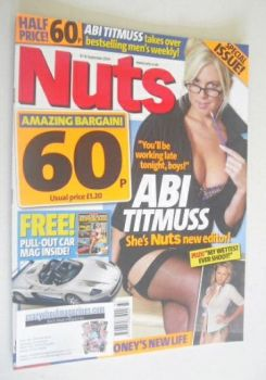 Nuts magazine - Abi Titmuss cover (10-16 September 2004)